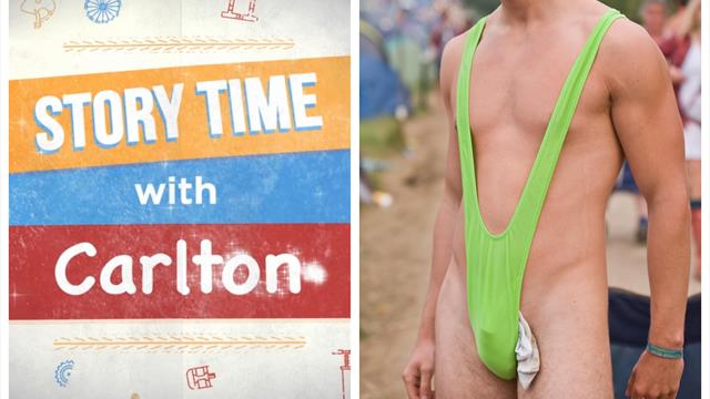 How a mankini-clad fan claimed a major Tour de France coup – Story Time with Carlton Kirby