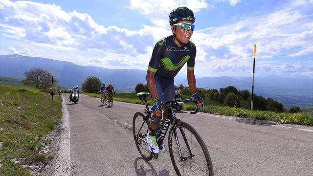 Nairo Quintana on the need to fight until the end