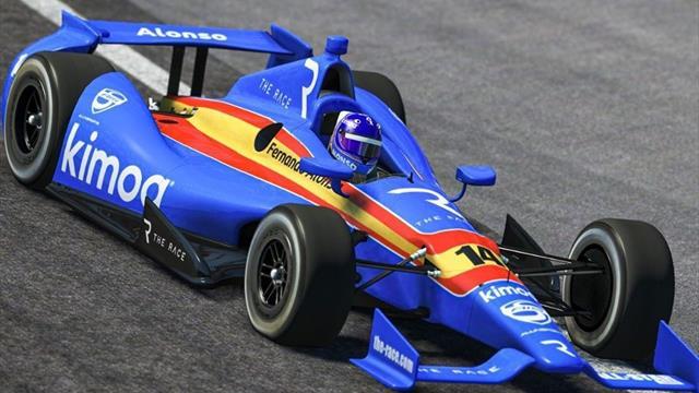 En directo: The Race llega con Fernando Alonso al icónico óvalo de Indianápolis