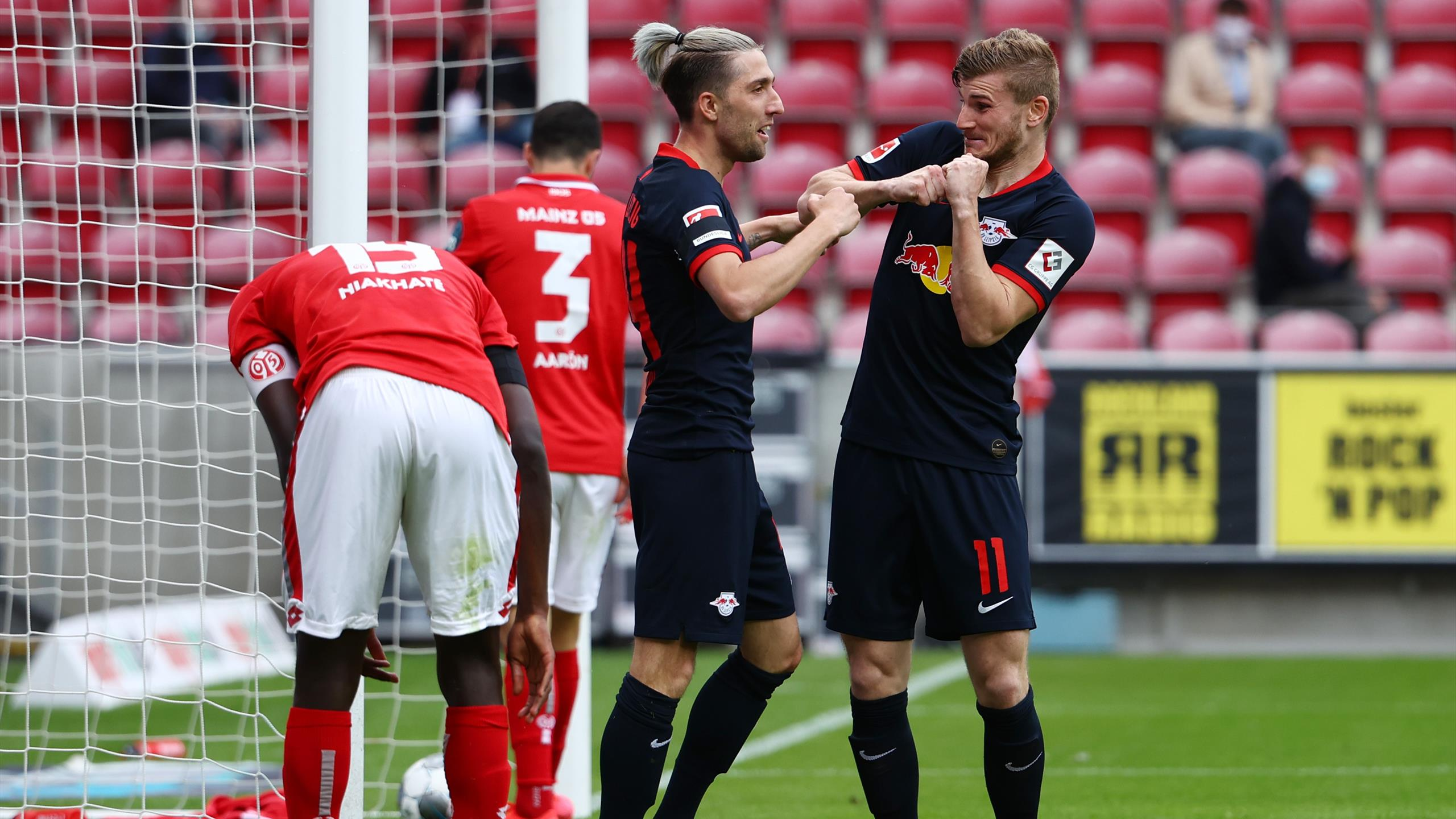 Football News Werner Stars As Rb Leipzig Thrash Mainz Eurosport