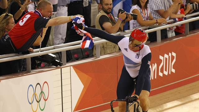 #Returnto2012 - Hoy secures emotional record sixth gold in the keirin