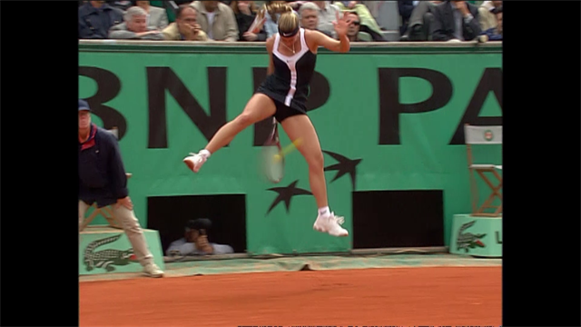 YSWP: Is Mary Pierce's lob-tweener from RG 2000 the best shot ever?