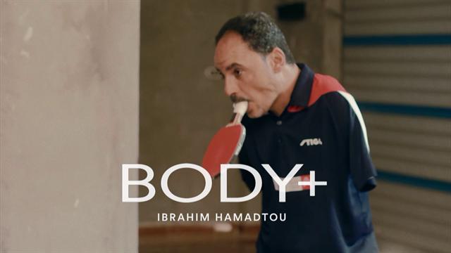 El ejemplo de superación de Ibrahim Hamadtou, el egipcio que juega a tenis de mesa con la boca