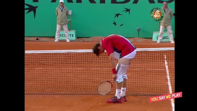 #YouSayWePlay: Safin, en calzoncillos tras este puntazo, la celebración más extraña de la historia