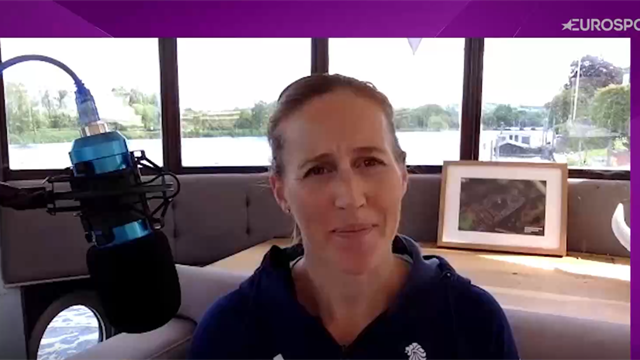 #Returnto2012 - Helen Glover: I think we got a helicopter to Buckingham Palace or something
