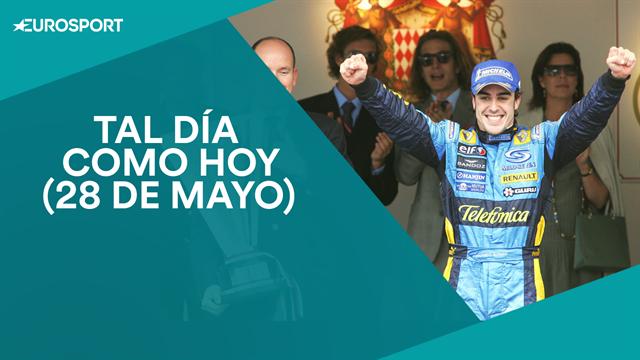 Tal día como hoy, 28 de mayo: Fernando Alonso se corona por primera vez en el GP de Mónaco