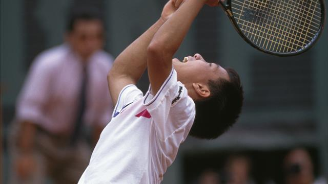 Michael Chang's bold move on matchpoint against Ivan Lendl in 1989