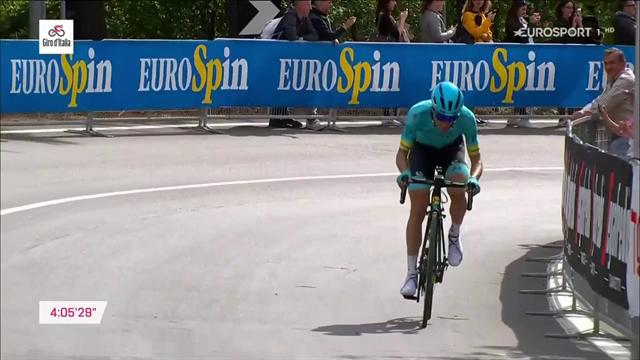 Giro Classic Stage: Pello Bilbao sorprende a todos en L'Aquila en 2019