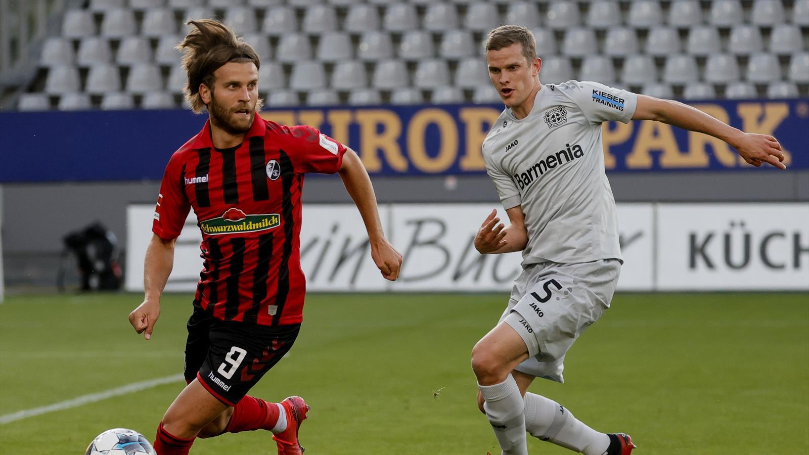 LIVE SC Freiburg - Bayer 04 Leverkusen - Bundesliga - 29 May 2020 ...