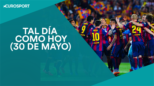 Tal día como hoy, 30 de mayo: Una nueva Copa del Rey para el Barça y otra conquista europea blanca