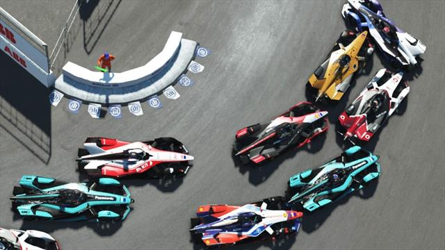 Stoffel Vandoorne wins Round 6 of the ABB Formula E Race At Home Challenge