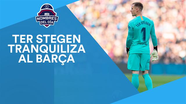 Ter Stegen, Dani Olmo, el Barça, Dybala y Ferran, los nombres del día