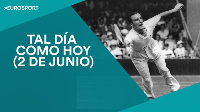 Tal día como hoy, 2 de junio: Fred Perry, primer tenista en lograr los cuatro grandes