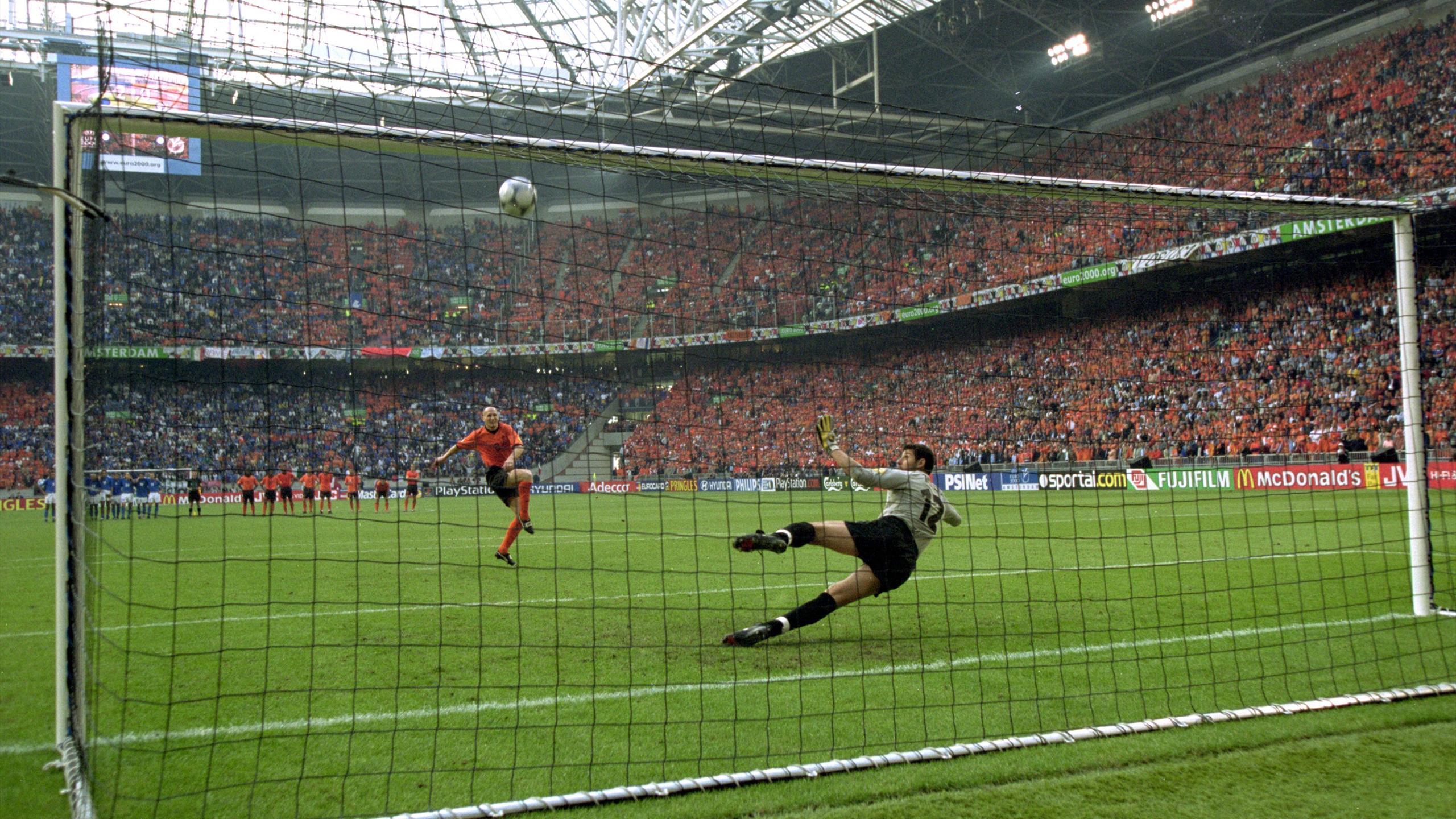 Golden Goal Golden Summer The Story Of Euro 2000 Eurosport