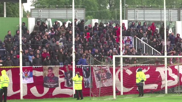 ¿Distancia social? Serbia permite la vuelta del público y así están ya los fans del Estrella Roja