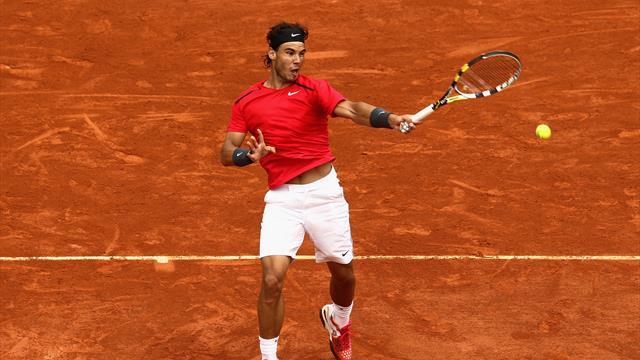 #YouSayWePlay: Contra las cuerdas y Nadal se inventa este passing-shot ante Nole en la final de 2012