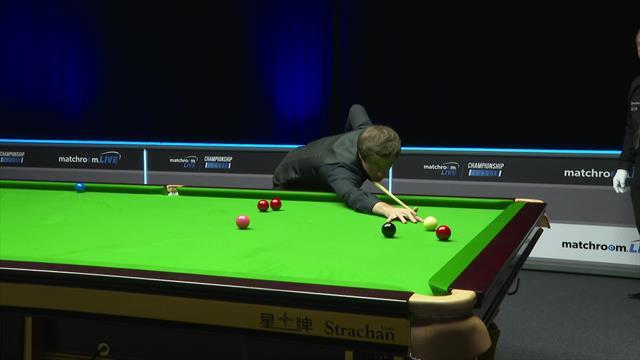 Snooker Championship League:  Jack Lisowski se exhibe con una centena de 122