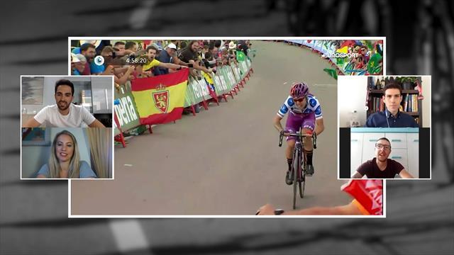 """Ángel Madrazo en 'La Montonera': """"Repetir victoria en La Vuelta es difícil, pero voy motivadísimo"""""""