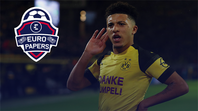 Real Madrid make Sancho their top transfer target – Euro Papers