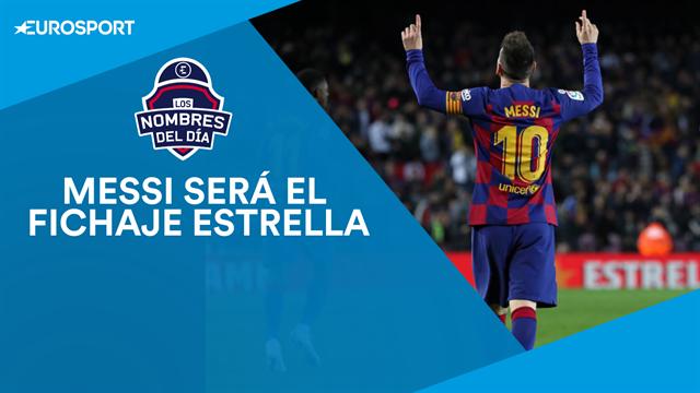 Messi, Lautaro, Raúl y Savic, nombres del día