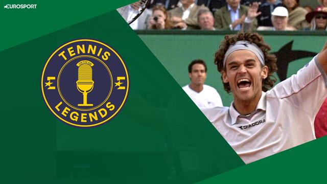 'My dream came true' - Kuerten and Corretja watch back 2001 Roland-Garros final