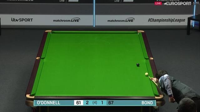 Championship League: O'Donnell consigue de forma magistral los 22 puntos de la victoria