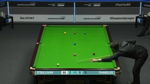 Championship League: O'Sullivan arranca imparable en la fase de ganadores ante Chandler