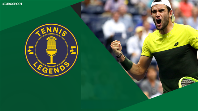 Berrettini talks Player Relief Fund, dream wins and heroes - Tennis Legends