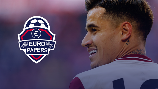 Newcastle lead race for Philippe Coutinho – Euro Papers