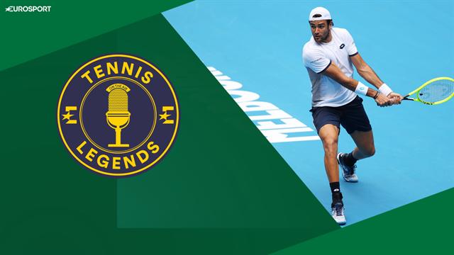 Tennis Legends, con Corretja y Wilander: ¿Qué torneo quiere ganar Berrettini en su carrera?