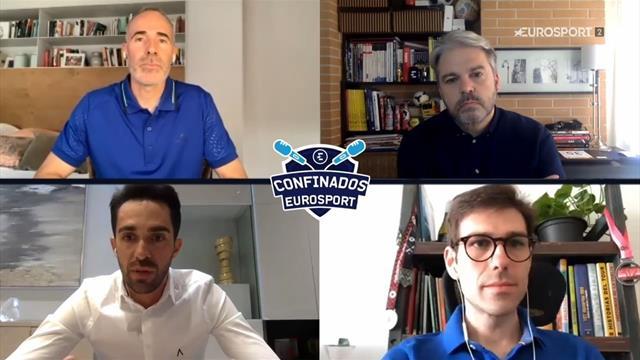 ¿Qué deporte es más duro mentalmente, tenis o ciclismo? Corretja y Contador responden
