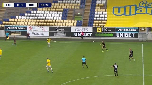 Piotr Johansson scores from 50 yards in Norwegian league