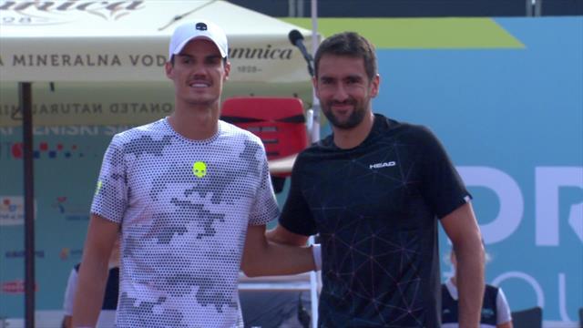 Adria Tour highlights: Danilo Petrovic shocks Marin Cilic