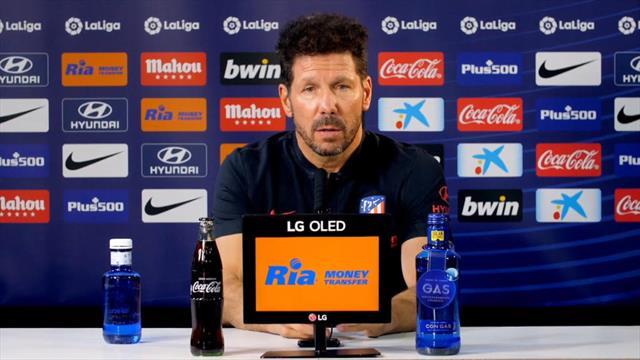 """Simeone: """"No hay excusas, cuando se pone un horario hay que jugar y ganar"""""""
