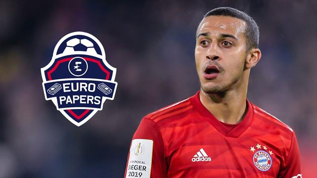 Thiago performs shock contract u-turn to join Liverpool - Euro Papers