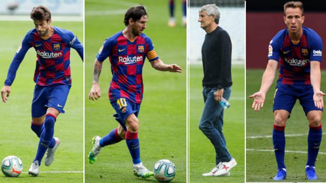 Piqué, Messi, Setién y Arthur, los nombres del día