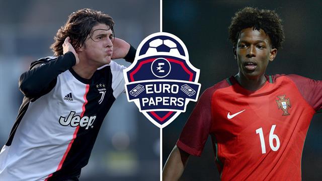 Juventus and Man City swap wonderkids – Euro Papers