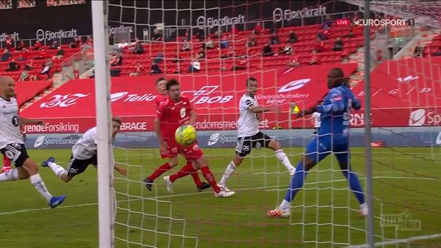 Eliteserien: Hovland revive al Rosenborg anticipándose a balón parado