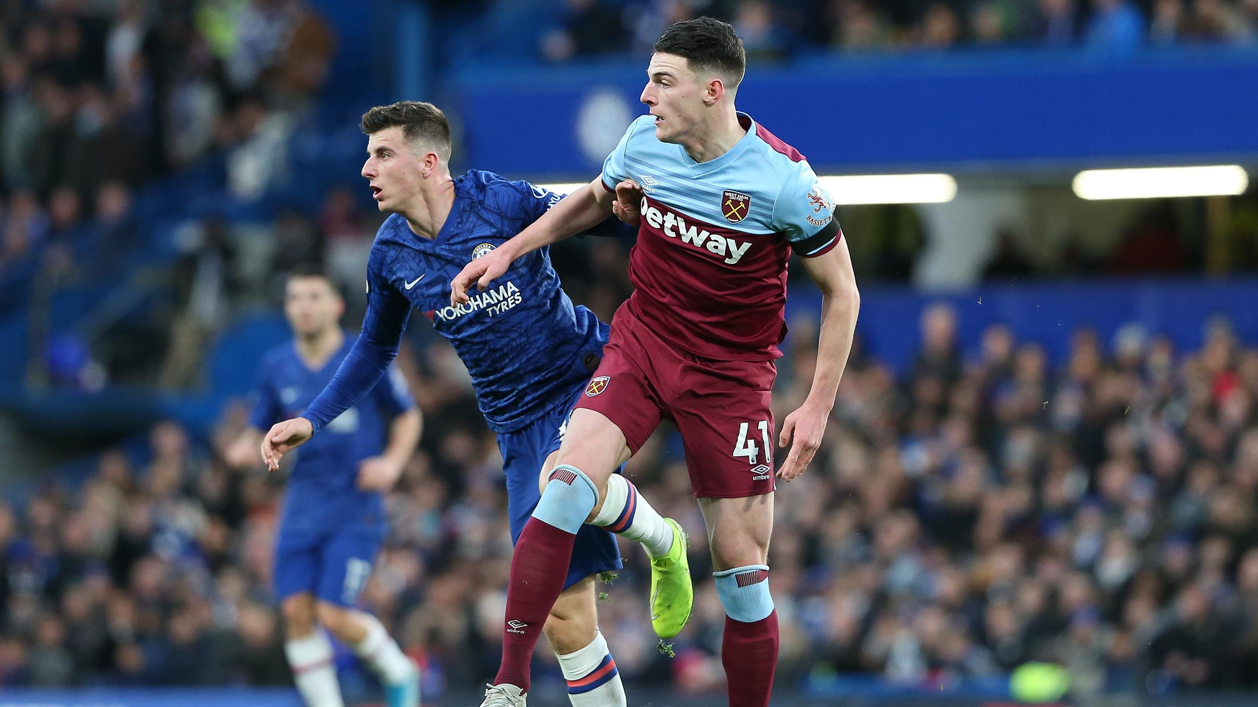 Chelsea's spending spree continues with £45m-rated Declan Rice ...