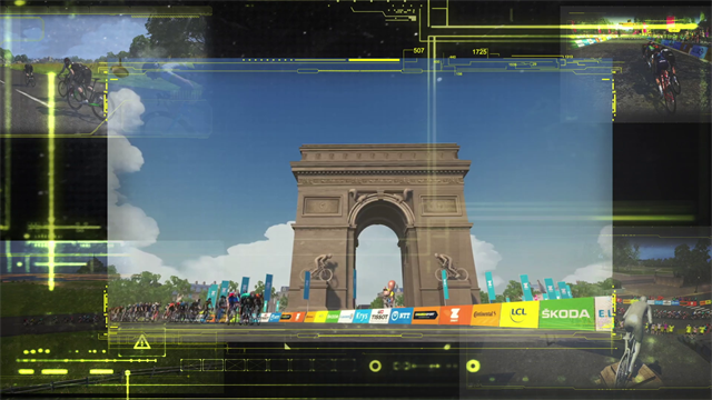 Introducing the Virtual Tour de France from Zwift