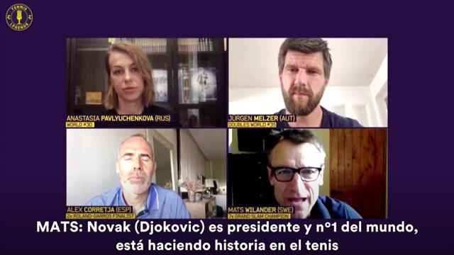 Tennis Legends: ¿Tiene realmente tiempo Djokovic para ser presidente del Consejo de Jugadores?