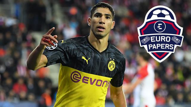 Achraf Hakimi rejects Manchester United as Inter win race to sign Real Madrid star - Euro Papers