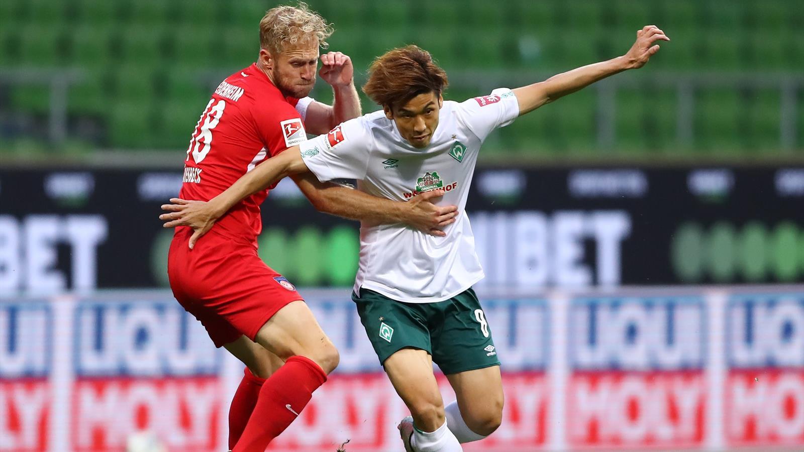 Spiel Heidenheim Bremen