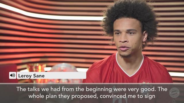 Leroy Sane targets Champions League success at Bayern Munich