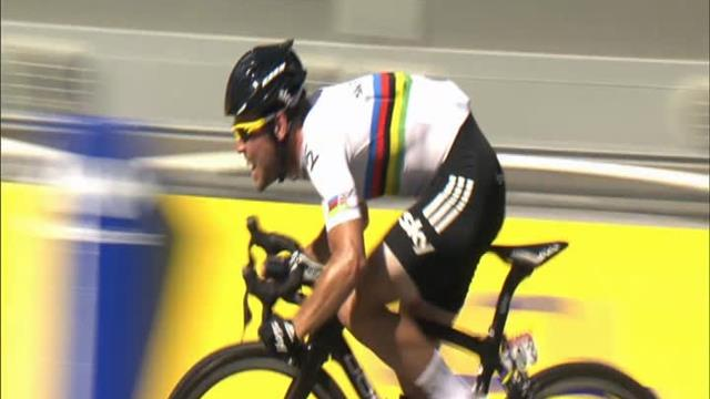 Tour de France 2012: Mark Cavendish wins final stage as Bradley Wiggins triumphs