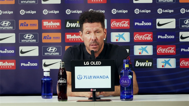 Diego Simeone: 'VAR favours teams who attack like Real Madrid'