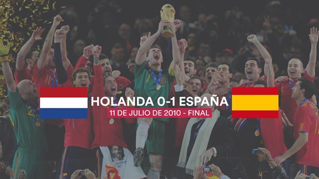 10 años del Mundial de Sudáfrica: El pie de Iker, el gol de Iniesta y el día que fuimos campeones