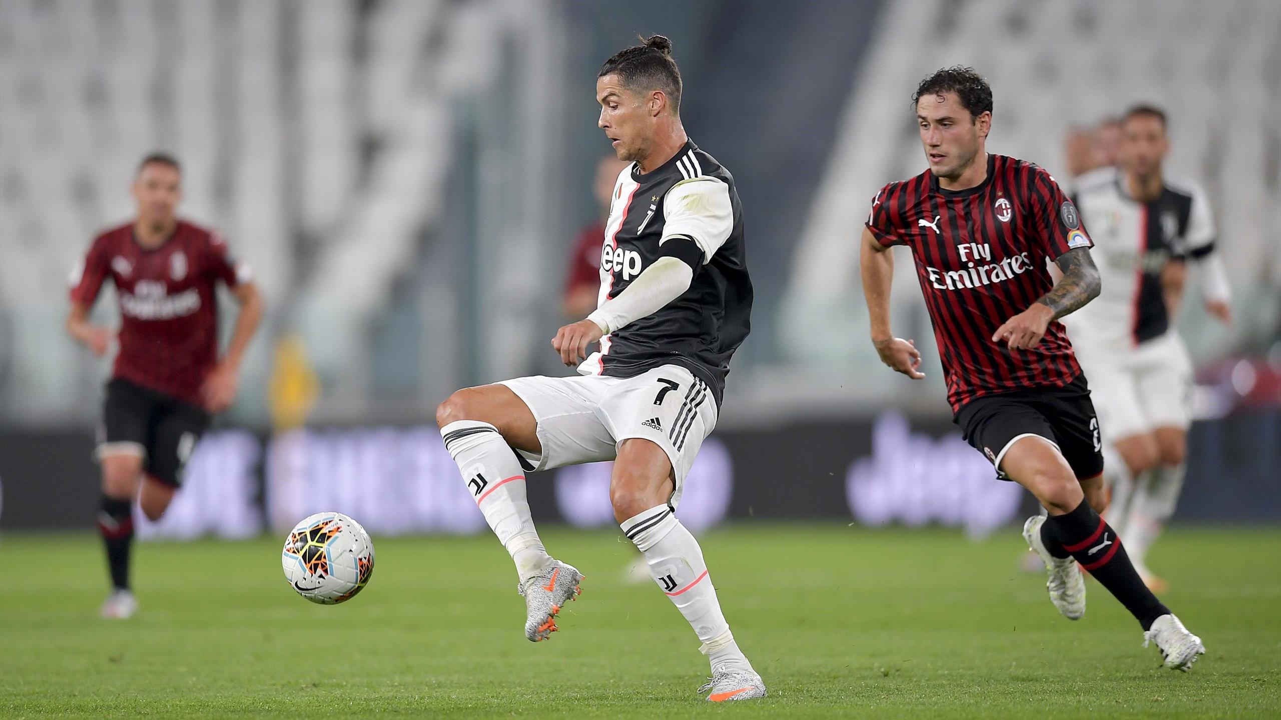 Juventus Turin Gegen Ac Mailand