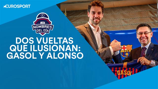 Pau Gasol, Fernando Alonso, Neymar, Griezmann y Camavinga: los nombres del día