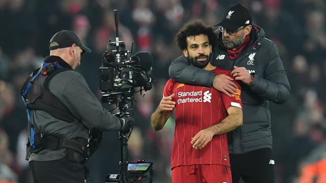 Liverpool boss Jurgen Klopp praises Mo Salah for his 'crazy numbers' as he nears EPL record